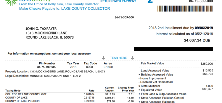 Understanding Your Lake County Property Tax Bill
