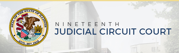 19th Judicial Circuit to Remain Open, However Takes Steps to Limit Number of People Entering Courthouse